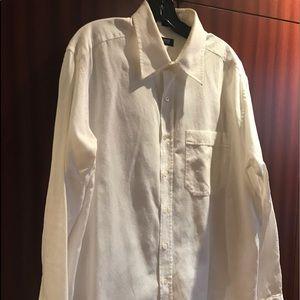 BARNEYS New York  100%Cotton Dress Shirt sXL